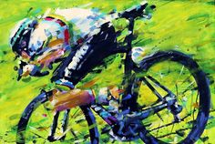 PAINTING LE TOUR: Peter Sagan, Tour de Suisse 2017