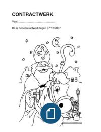 Contractwerk - Werkbundel voor het derde leerjaar