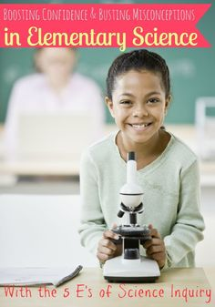 Boosting Confidence and Busting Misconceptions in Elementary Science - interesting post. The list of science misconceptions was surprising.