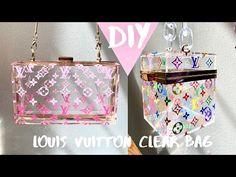 Louis Vuitton Cosmetic Bag, Vuitton Bag, Louis Vuitton Handbags, Custom Purses, Custom Bags, Clear Handbags, Purses And Handbags, Luxury Purses, Luxury Bags