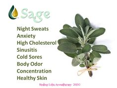 health benefits of sage