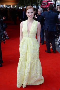 "Jessica Chastain in Erdem Resort 2015: ""Salome And Wilde Salome"" Screening"