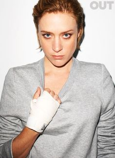 Chloë Sevigny by Terry Richardson , for Out Magazine.
