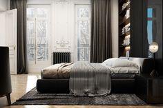 Exquisite flat in Paris by Diff Studio 18 - MyHouseIdea