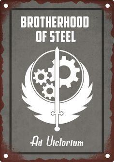 Brotherhood Of Steel. Fallout Lore, Fallout Fan Art, Fallout Vault, Fallout Posters, Fallout Props, Paladin, Fallout 4 Wallpapers, Fallout 4 Secrets, Fallout Brotherhood Of Steel