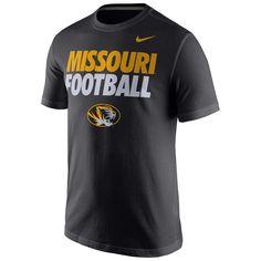 Missouri Tigers Nike Practice T-Shirt - Black