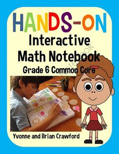 6th grade Hands-on Interactive Math Notebook $