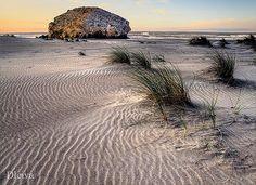 Monsul beach, in Cabo de Gata Natural Park (Almería, spain)