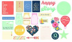 Amazon.com: American Crafts Dear Lizzy Lucky Charm Die Cut Paper Shape