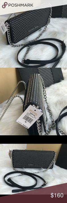 Spotted while shopping on Poshmark: 🌷MICHAEL KORS Black Wallet On A Chain Crossbody! #poshmark #fashion #shopping #style #Michael Kors #Handbags