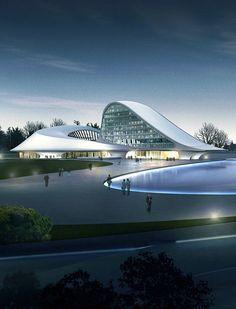 Harbin Cultural Centre by MAD #architecture ☮k☮ #modern