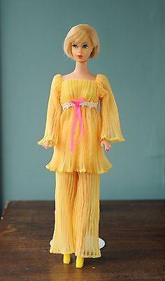 Vintage-Barbie-Lemon-Kick-Outfit-1465-Mattel-1970-Mint
