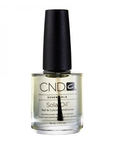 SolarOil Cuticle Oil. Keeps cuticles soft and in great condition.
