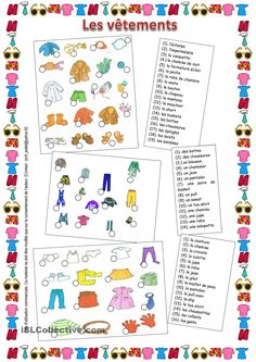 Printing Ideas Fun Free Printables How To Learn French Tutorials Referral: 4467958919 French Flashcards, French Worksheets, French Teacher, Teaching French, French Friend, French Outfit, Core French, French Education, French Grammar