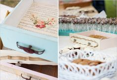 drawers used for dessert table