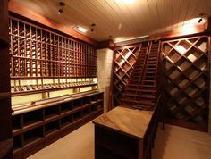 Basement Design Ideas - Wine Cellar
