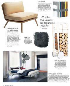 Eckmann Alive Studio / Mad og Bolig Maj Trends: Trae. / Fleimio Trolley