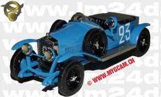 LE MANS 1923 - Bignan #23 - Raymond de Tornaco -  Paul Gros    - Modello Gcam