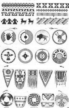 Indianer Cheyenne Indianische Piktogramme Und Symbole Alle