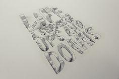 typography illusion - Google 搜尋