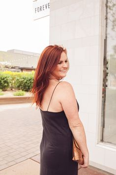 LACI LEIGH_DIANA AVALOS PHOTOGRAPHS, blogger, #ootd, love this beautiful charcoal dress! perfect outfit insspo!