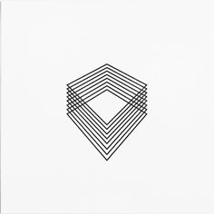 abstract geometric design tattoo - beautiful lines