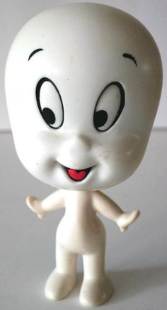 Mattel Talking Casper the Friendly Ghost. You pulled his head apart from his body to make him talk.