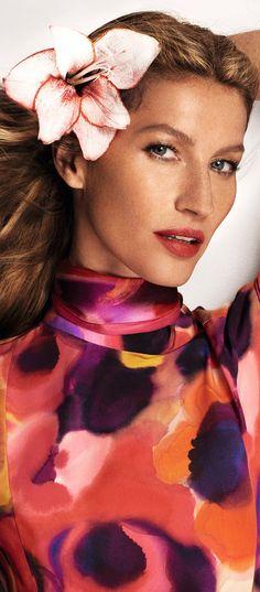 Vanda ~ Haute in Brazil | Brazilian Model Gisele Bündchen by Mario Testino for Vogue China March 2015