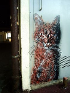 C215 - Vitry-sur-Seine by C215, via Flickr