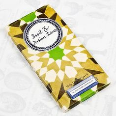 Basil & Persian Lime Organic Dark Chocolate Artisan Bar ~ Rococo Chocolates