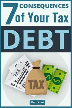Avoiding your tax obligation only leads to bigger problems. Tax Help, Federal Budget, Tax Refund, Get Out Of Debt, Financial News, Debt Payoff, Money Management, Personal Finance, Budgeting