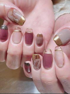 Nail Design Stiletto, Nail Design Glitter, Valentine's Day Nail Designs, Nail Polish Designs, Gel Polish, Gorgeous Nails, Pretty Nails, Hair And Nails, My Nails