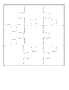 Template For A Self Made Puzzle 30 Pieces Others Also Available On