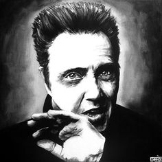 Christopher Walken Art Conspiracy 5 by Cabe Booth, via Flickr