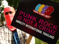 Free Pussy Riot Action, Bangkok by Amnesty Thailand, via Flickr