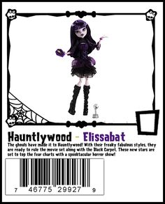 Elissabat a new character for 2014, will tie in to the Frights, Camera, Action movie.