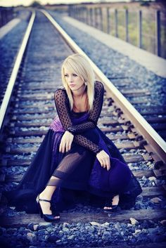 Senior Photography Poses | senior girl photography {posing ideas} / perfection in purple | Flickr ...