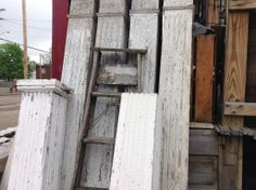 More architectural salvage.  We always seem to get porch posts in ❤️
