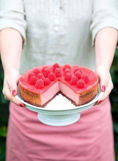 Pink velvet cheesecake du livre Vegan | Marie Laforet du blog 100vegetal (éditions La Plage)