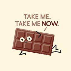 immer diese Schokolade