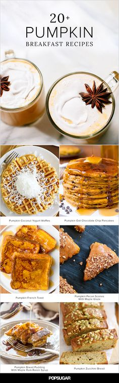 Pretty much everything in the sweet-leaning breakfast repertoire can be improved upon with a hit of pumpkin spice and purée. These 25 recipes are prime examples, including not one but three cozy caffeinated beverages, muffins and quick breads aplenty, pumpkin spice granola, and much, much more.