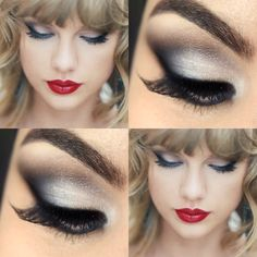 Maquiagem Taylor Swift - Blank Space: http://www.pausaparafeminices.com/tutorial-make/makeup-tutorial-taylor-swift-blank-space/