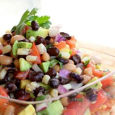 Cowboy Caviar: perfect for New Years because it includes Black Eyed Peas for good luck!