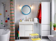 Mobile Da Bagno Ikea : Ikea storjorm mirror with built in light white products