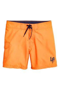 cc6330f2bf Swim shorts with a pocket | H&M Swim Shorts, Swim Trunks, Beachwear, Beach