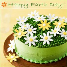 Pretty Delicious: Spring Earth Day Cake | Oh How Posh! Blog
