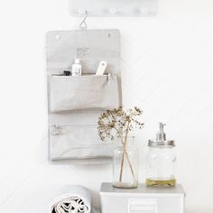Find the perfect decor items for your bathroom interior styling, including plenty of ideas for your bathroom decor. This section includes bathroom storage, bathroom accessories and bathroom mirrors for your industrial style decor. House Doctor, Home Interior, Bathroom Interior, Interior Styling, Grey Houses, Famous Last Words, Toiletry Bag, Bath Caddy, Bathroom Storage