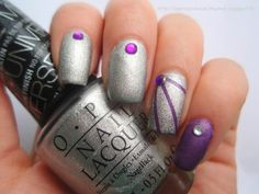 The 31 Day Challenge / Day 8 31 Day Challenge, Nail Tape, Sally Hansen, Vinyls, Opi, Nail Polish, Challenges, Crown, Nails