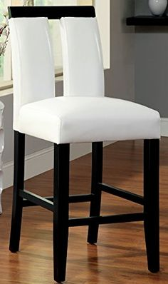 Furniture of America Durant Pub Dining Chair Set of 2 *** To view further for this item, visit the image link.Note:It is affiliate link to Amazon. #onedirection