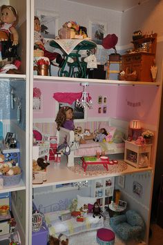 American Girl Doll house by five4gena, via Flickr